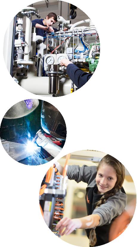 QUICK CHECK - Entdecke deine Möglichkeiten für eine berufliche Zukunft in der Metalltechnischen Industrie