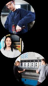 Mädchen und Technik: starke Berufsperspektiven